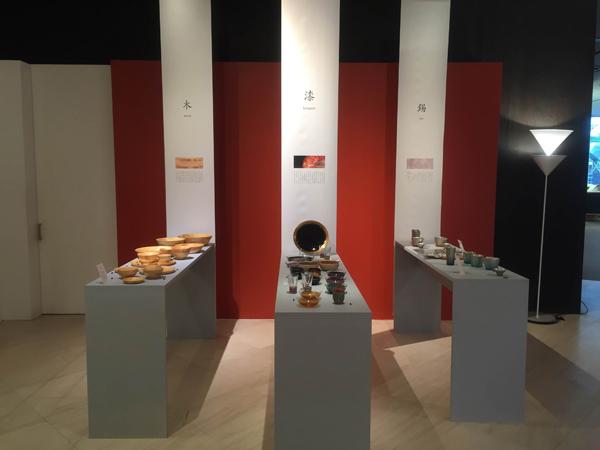 カッシーナ・イクスシー様 和の特別展示「 Colors & Materials - 素材と彩りの和 -」